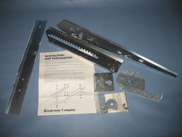 Brookstone 2613.8 hand saw guide