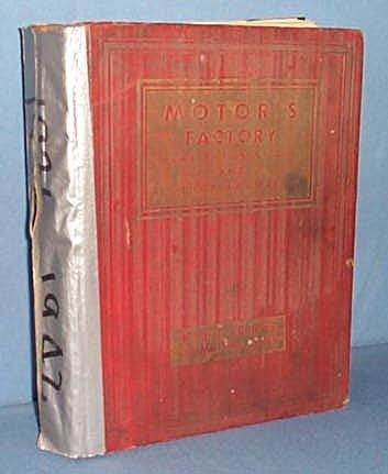 MoToR's Factory Flat Rate Manual, 15th Edition