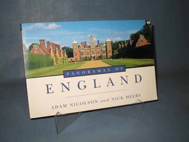 Panoramas of England by Adam Nicolson and Nick Meers
