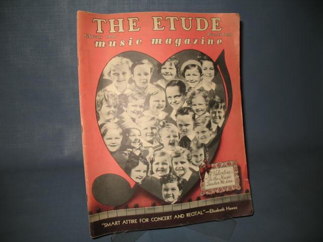 The Etude, February 1939