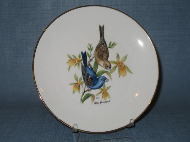 Bayreuther Waldsassen 134 Blue Grisbeak plate