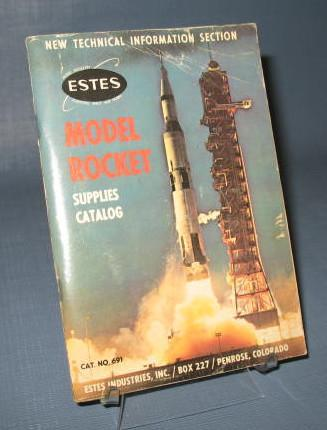 Estes #691 Model Rocket Supplies Catalog