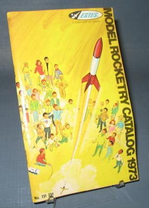 Estes #731 Model Rocket Supplies Catalog