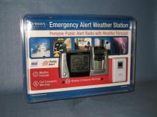 Oregon Scientific Emergency Alert Weather Station