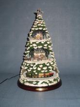 Thomas Kinkade Home for the Holidays Christmas Tree
