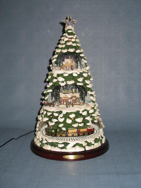 Thomas Kinkade Home for the Holidays Christmas Tree