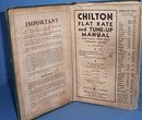 Chilton Flat Rate and Tune Up Manual, Thirteenth Edition, 1939