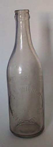 J. M. Winder, Bristol PA embossed beverage bottle