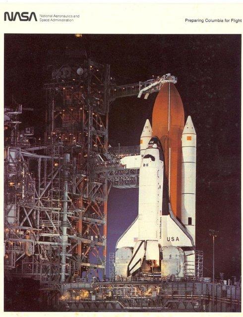 NASA Preparing Columbia for Flight Photo