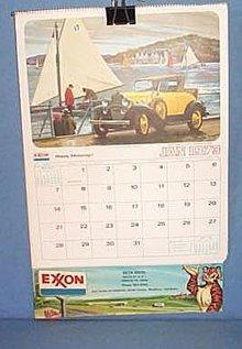 1973 Beck Bros. EXXON calendar, Emmaus PA