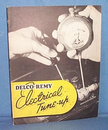 General Motors Delco-Remy Electrical Tune-up booklet