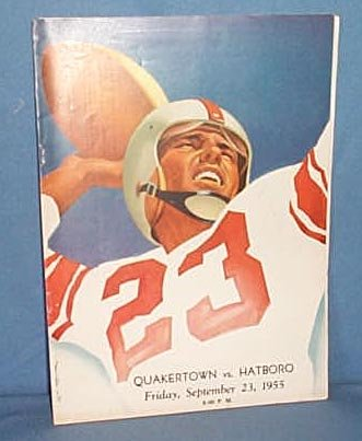 1955 Quakertown High School (PA) vs. Hatboro football program