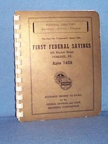 First Federal Savings (Perkasie, PA) Personal Directory