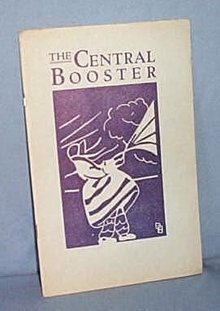 The Central Booster, Central Jr. High, Allentown PA April 1929
