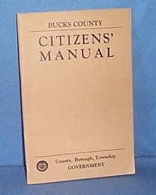 Bucks County (PA) Citizens' Manual