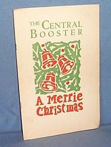 The Central Booster, Central Jr. High, Allentown PA, December 1928