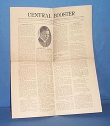 Central Booster (newspaper of Central Jr. High, Allentown PA) December, 1927