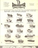 Railmaster Hobby Products, Lancaster PA HO Scale Models brochure