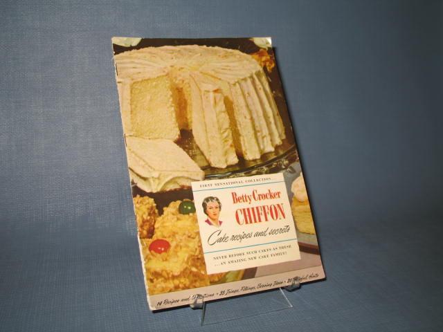 Betty Crocker Chiffon Cake Recipes and Secrets