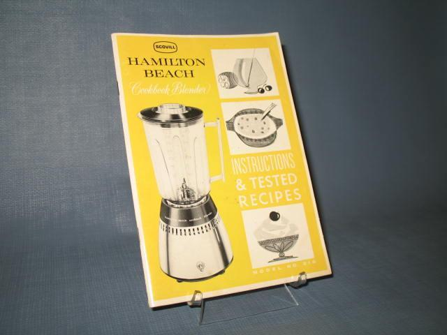 Hamilton Beach Cookbook Blender Instructions & Tested Recipes