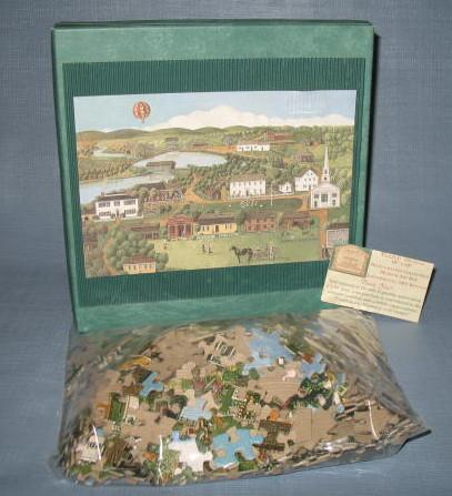 Old Sturbridge Village 550 piece jigsaw puzzle by Linda Peterson