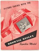 Picture Taking with the Brownie Reflex Synchro Model booklet