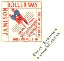 Jamison (PA) Roller Way label