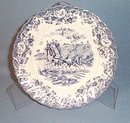 Johnson Brothers Coaching Scenes bread plate