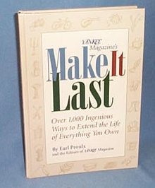 Yankee Magazine's Make It Last by Earl Proulx