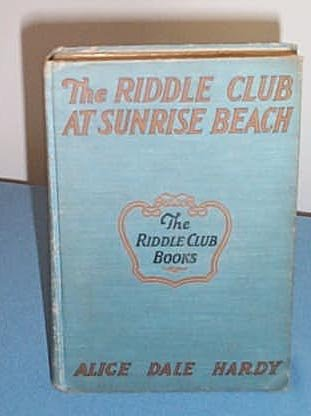 The Riddle Club at Sunrise Beach by Alice Dale Hardy