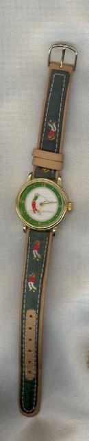 Classic Time Watch Co. golfing wristwatch