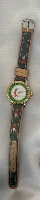 Classic Time Watch Co. golfing wristwatch