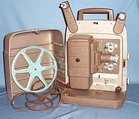 Bell & Howell Model 253 AX movie projector