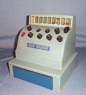 Tom Thumb tin cash register