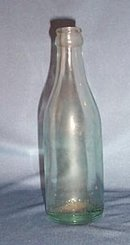 The Ferro Phos Co., Pottstown PA green beverage bottle