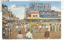 Steel Pier, Atlantic City,  NJ color postcard