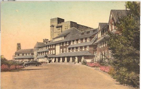 Pocono Manor Inn, Pocono Manor, PA color postcard