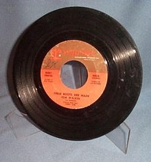 These Boots Are Made For Walkin' by Nancy Sinatra 45 RPM