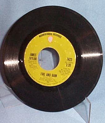 Fire and Rain by James Taylor 45 RPM