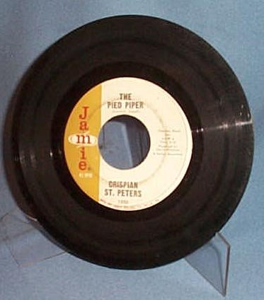 The Pied Piper by Crispian St. Peters 45 RPM