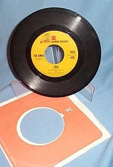 Lola by The Kinks 45 RPM