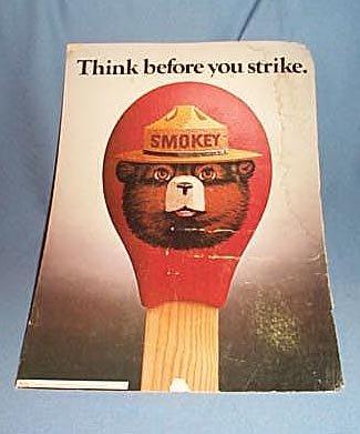 Smokey Bear poster number 83-CFFP-1
