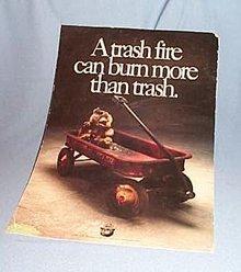 Smokey Bear poster number 89-CFFP-27