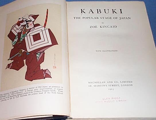 Kabuki: The Popular Stage of Japan by Zoe Kincaid