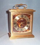 Howard Miller brass shelf clock