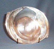 Heirloom silverplate bon-bon bowl