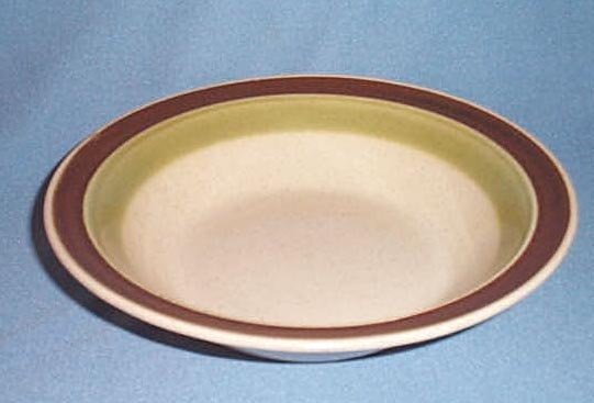 Premiere Potterskraft Cucumber round soup bowl