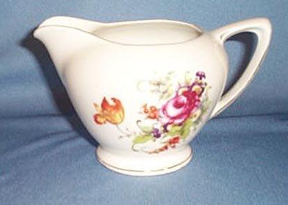 Victoria Czechoslovakia china creamer