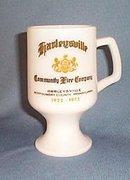 Harleysville  (PA) Community Fire Co. milk glass mug