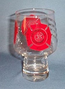 Keystone Chiefs Spring Meeting, Conshohocken PA, 1974 glass